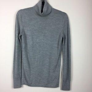 C Wonder Grey Wool Turtleneck Sweater s